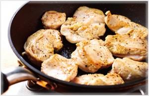 鶏むね肉のそぎ切り
